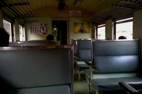 Ordinary Train in Thailand