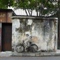"""Children on a Bicycle"" by Zacharevic"