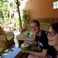 Pause in der Blossoming Romdual Lodge